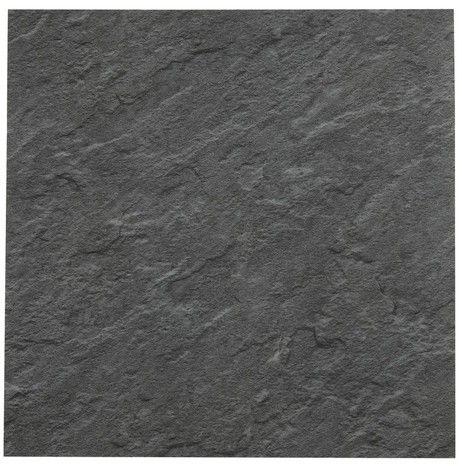 Dalle Pvc Adhesive Decor Imitation Ardoise 30 5 X 30 5 Cm Brico Depot Dalle Pvc Adhesive Dalle Pvc Dalle Adhesive