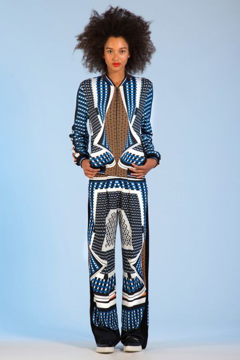 Prints are an Attitude: Clover Canyon Resort 2014. More here: http://www.africanprintinfashion.com/2013/05/prints-are-attitude-clover-canyon.html