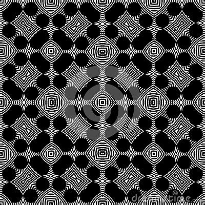 Luxury Seamless Black White Pattern Vector Background