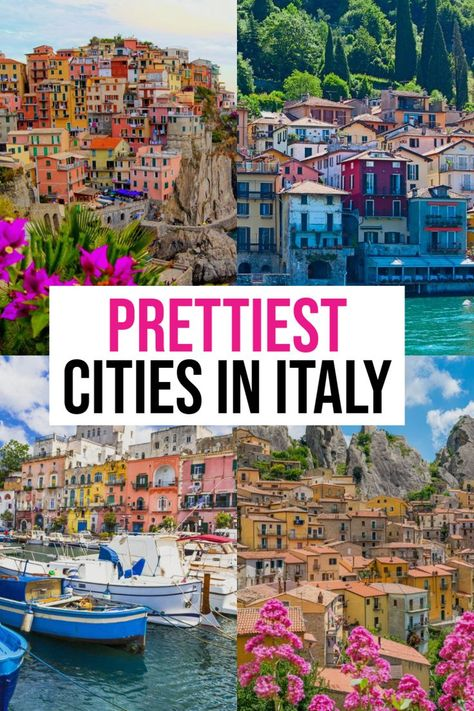 Prettiest Cities in Italy