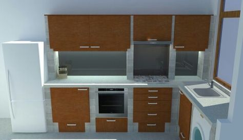 Ytong kitchen concept 1 Kitchen Pinterest Kitchens - küche aus porenbeton