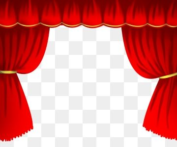Hand Drawn Curtain Red Curtain Stage Curtain Curtain Illustration Png And Psd Red Curtains How To Draw Hands Stage Curtains