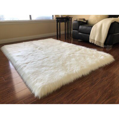 Union Rustic Wiersma Luxurious Off White Area Rug Rug Size