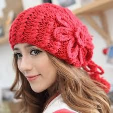 Gorro de lana para mujer Tejido a mano por Xochiketsali en Etsy