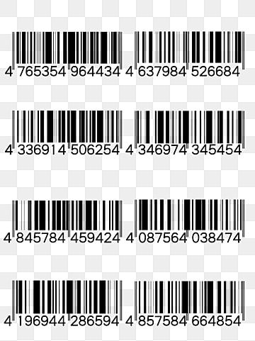Creative Black And White Barcode Creativity Black And White Bar Code Png Transparent Clipart Image And Psd File For Free Download Black And White Cartoon Black And White Black And White