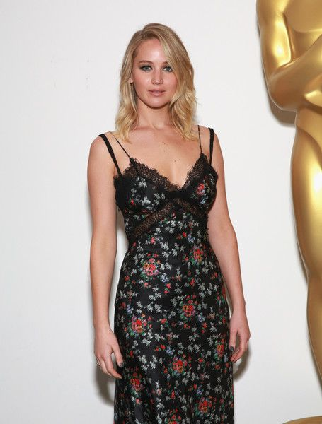 Jennifer Lawrence attends an official Academy screening of MOTHER! hosted by The Academy of Motion Picture Arts & Sciences at MOMA - Celeste Bartos Theater on September 21, 2017 in New York City.