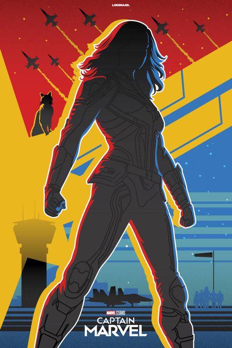 Captain Marvel Alternate Poster by laksanardie on DeviantArt