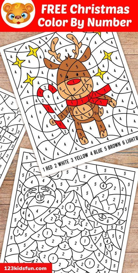 Free Christmas Printables For Kids 123 Kids Fun Apps Christmas Printable Activities Free Christmas Coloring Pages Christmas Tree Coloring Page