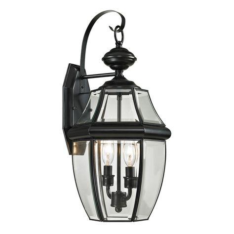 Westmore Lighting Keswick 21 In H Black