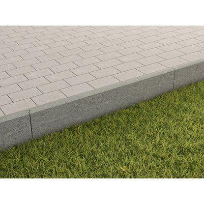 Randstein Grau 100 Cm X 25 Cm X 5 Cm Kaufen Bei Obi Randsteine Rasenkanten Steine