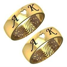 Gold Name Ring Designs Gold Ring With Name In India Gold Wedding Rings With Names Engraved Gold Couple Wedding Rings Cool Wedding Rings Wedding Ring With Name