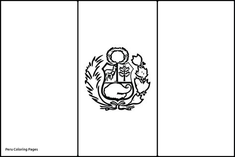 Ecuador Flag Coloring Page For 2019 Http Www
