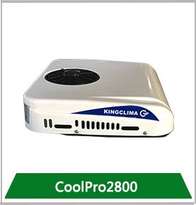 Coolpro2800 Model Breaks Through In Truck Air Conditioning Field And As The Most Ultra Compact 12v 24v Truck Roof Mounte Roof Air Conditioning Air Conditioner