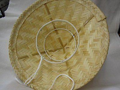 Japanese Takegasa Traditional Samurai Travel Bamboo Hat Dia 410mm Gotoku Ebay Wood Basket Samurai Hat Furniture Shop