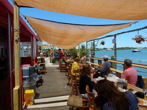 Dolphin View Restaurant, New Smyrna Beach FL by Rusty Clark, via Flickr