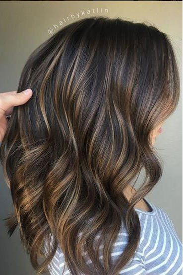 Gorgeous Brown Hairstyles With Blonde Highlights Balayage Brunette Hair Styles Brown Blonde Hair
