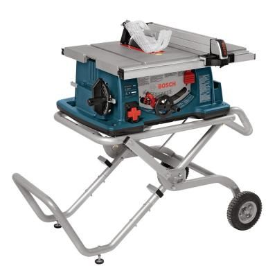 Delta 15 Amp 10 In Left Tilt 30 In Portable Jobsite Table Saw 36 6010 With Images Portable Table Saw Best Table Saw Jobsite Table Saw