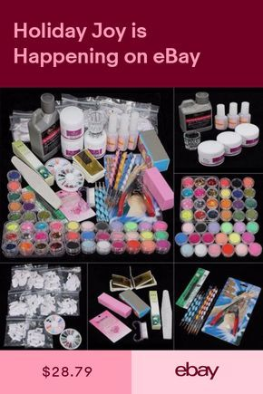Nail Art Accessories Health Beauty Ebay With Images Acrylic