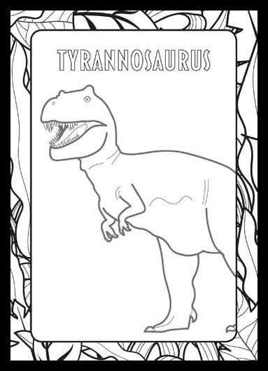 Fantastis 26 Gambar Mewarnai Dinosaurus T Rex Buku Dinosaurus Mewarnai 1 0 Unduh Apk Untuk Android Aptoide Dan Hari Ini Saya Akan Me Dinosaurus Gambar Warna