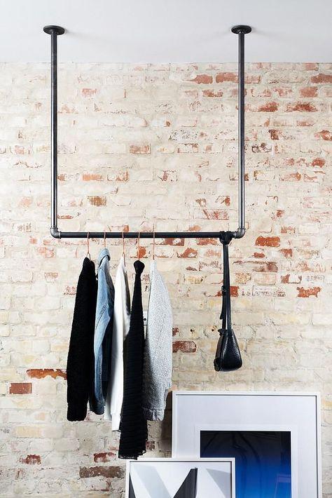 Photo of RackBuddy Joey – Kleiderstange für Montage an der Decke