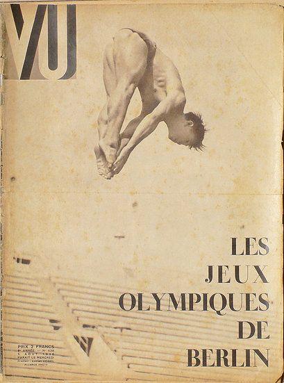 Vu Les Jeux Olympiques De Berlin 5 Aout 1936 Berlin Vus Movie Posters