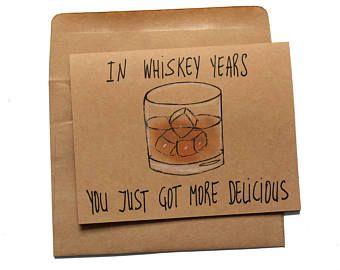 Whiskey Birthday Card - Funny Birthday Card for Whiskey Lovers - Whiskey Card for Dad . - Whiskey birthday card – funny birthday card for whiskey lovers – whiskey card for dad – whiskey birthday card for him – grandfather card, card - Happy Birthday For Him, Birthday Cards For Him, Birthday Card Sayings, Birthday Cards For Boyfriend, Bday Cards, Funny Birthday Cards, Birthday Greetings, 25th Birthday Ideas For Him, Birthday Quotes Funny For Him