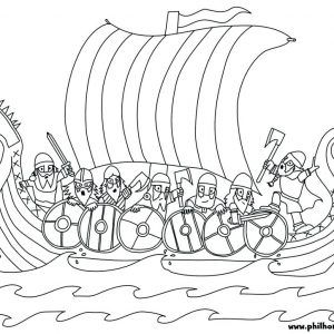 Coloring Pages Vikings Nephi Builds A Ship Coloring Page Vikings