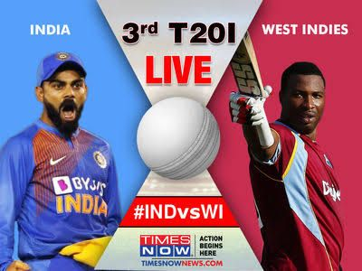 3rd T20 Today Match India Vs West Indies Live Cricket Online Live Cricket Live Cricket Streaming