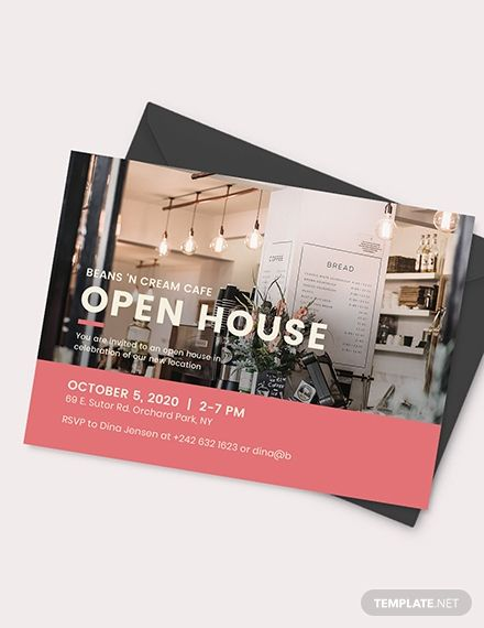 Business Open House Invitation Template Ad Paid Open Business House Template Invitati Open House Invitation Open House Christmas Invitation Card