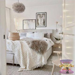 غرف نوم بنات مودرن للصبايا من احدث ديكورات غرف الفتيات المراهقات 2021 White Bedroom Decor Bedroom Decor Cozy Cozy Small Bedroom Decor