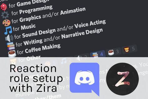 Setting Up Reaction Roles And Pronouns On Discord With Zira Christina Lassheikki In 2021 Discord Voice Acting Role