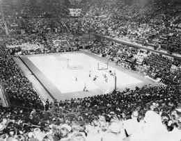 A Packed House Watches A Game In The Early Days Of Allen Fieldhouse The Fieldhouse Was An Improve Coach Of The Year Basketball History Basketball Game Tickets