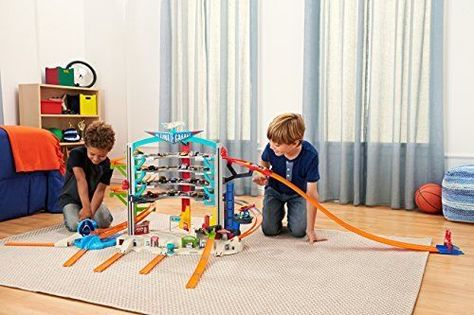 Hot Wheels Ultimate Garage Playset Toy Play Kids Track Cars New