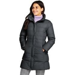 Quilted coats for women Petite size stretch down coat