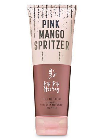 Pink Mango Spritzer Ultra Shea Body Cream Bath And Body Works