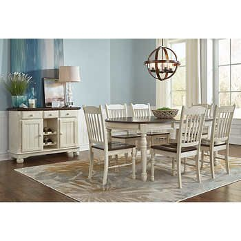 Bluff Point 8 Piece Dining Set Dining Set Dining Room Remodel Dining Room Sets
