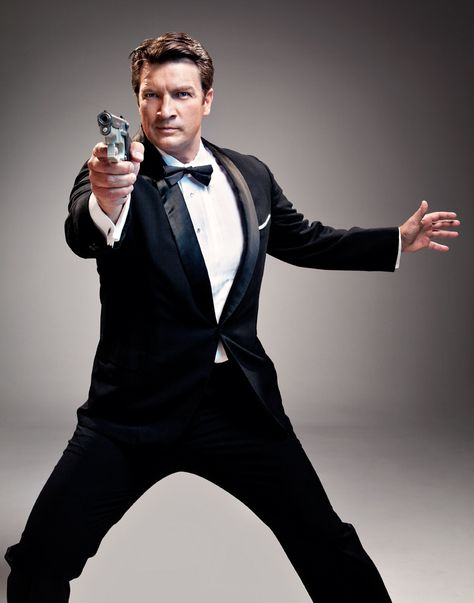 Nathan Fillion-my very own space cowboy and gangster of love