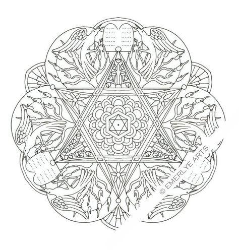 f5b2e d6347df73f72db8ea3410 les religions mandala coloring
