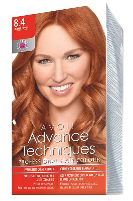 Avon Advance Techniques Sac Boyasi 8 4 Yogun Bakir 2020 Sac