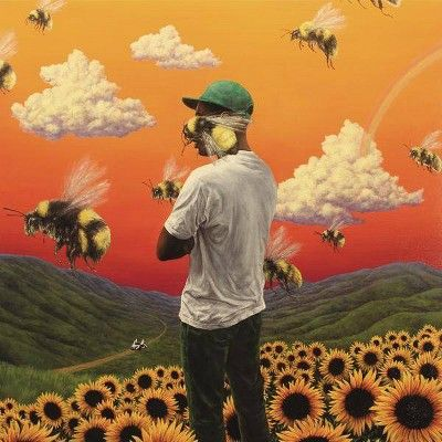 Tyler-Flower Boy Music Album Cover Art Silk Cloth Poster Home Wal Rap Album Covers, Iconic Album Covers, Music Covers, Collage Des Photos, Photo Wall Collage, Picture Wall, Album Travis Scott, Cover Art, Tyler The Creator Wallpaper