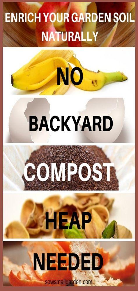 How to Make Soil Fertile Naturally • Sow Small Garden