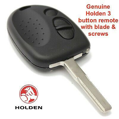 Complete Holden 3 Button Remote Chip Amp Key Suits Vs Vr Vt Vx Vy Vz Commodore Chip Key Holden Garage Remote