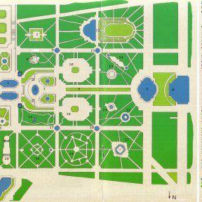 Plan Du Parc De Versailles