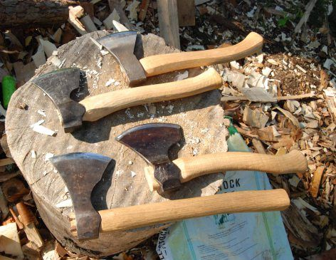 some spoon carving hatchets | Carved wooden spoons ,spoon carving