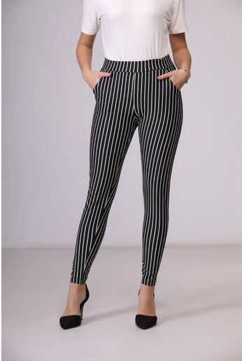 بنطلون اسكوبا اسود Fashion How To Wear Pants