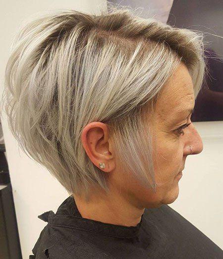 Blonde Bob Pixie Kurz Haarschnitt Frisuren Bob Feines Haar Kurzhaarfrisuren