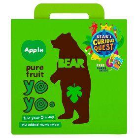 Bear Yoyo Multipack Apple Asda Groceries Online Food Shopping