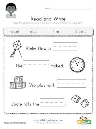 Complete The Sentence Worksheet Free Resource For Kinder In 2020 Kindergarten Worksheets Free Printables Writing Sentences Worksheets Kindergarten Worksheets Printable