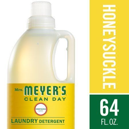 Mrs Meyera S Laundry Detergent Honeysuckle 64 Fl Oz Detergent