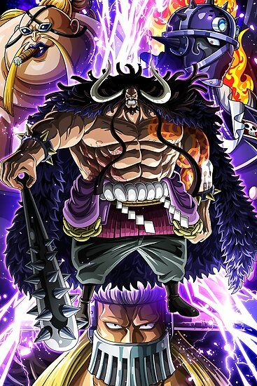 Kaido crew , king , queen , jack in 2020 | One piece ...